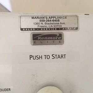 Kenmore electric dryer good working condition
